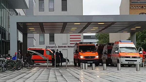 Berliner Klinik Charité, wo der russische Politiker Alexei Nawalny behandelt wird - Sputnik France