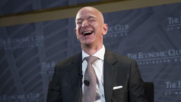 Jeff Bezos, fondateur et CEO d'Amazon - Sputnik France