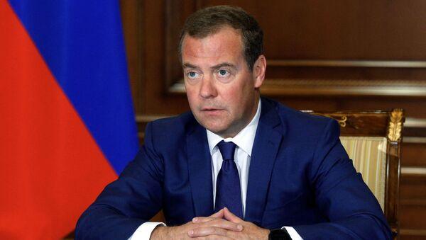 Dmitri Medvedev, vice-président du Conseil de sécurité de Russie - Sputnik France