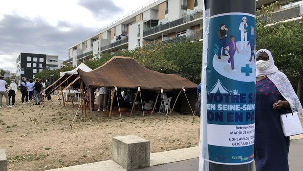 Une action Prévention Santé à Stains, en Seine-Saint-Denis - Sputnik France