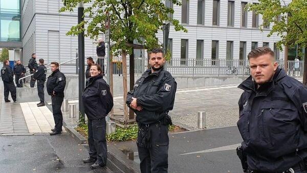 Clinique de la Charité de Berlin pendant l'hospitalisation d'Alexeï Navalny - Sputnik France