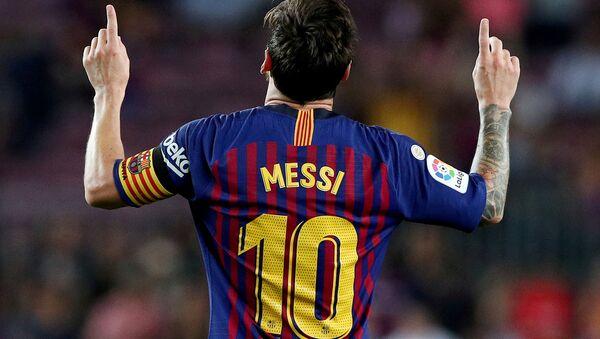 Messi quitte le Barça   - Sputnik France