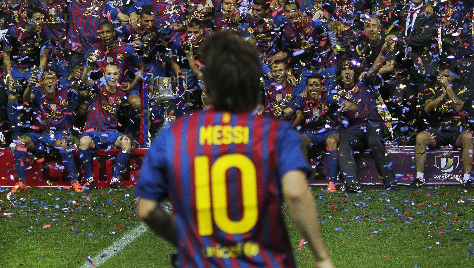 Lionel Messi, photo d'archives (2012) - Sputnik France, 1920, 05.08.2021