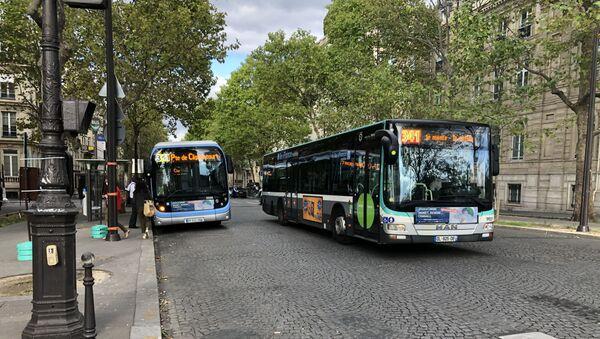 Un bus RATP. Image d'illustration - Sputnik France