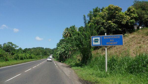 Entrée sur la commune du Robert via la Route Nationale 1, en Martinique. - Sputnik France