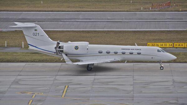 Un Gulfstream IV de l'Armée de l'air suédois (archive photo) - Sputnik France
