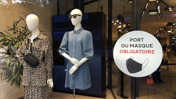 Coronavirus à Paris - Sputnik France