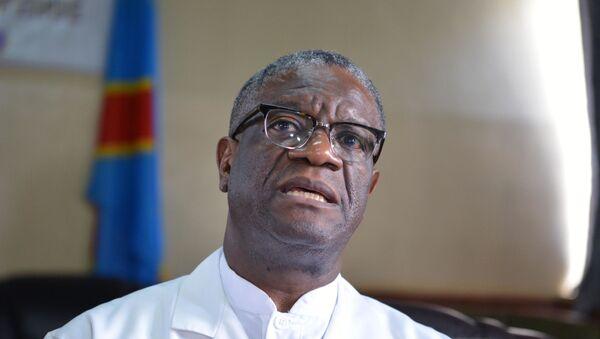 Le prix Nobel de la paix Denis Mukwege - Sputnik France