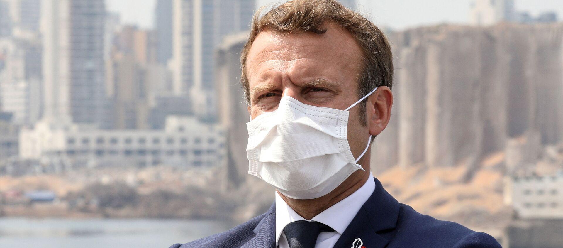 Emmanuel Macron à Beyrouth, le 1er septembre 2020 - Sputnik France, 1920, 29.09.2020