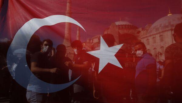 Le drapeau turc - Sputnik France