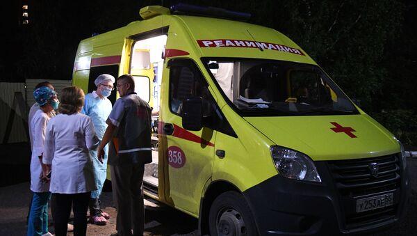 Hospitalisation de Navalny à Omsk  - Sputnik France