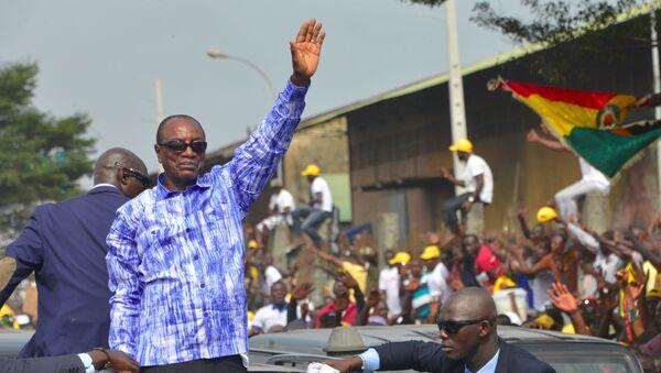 Le Président guinéen Alpha Condé - Sputnik France