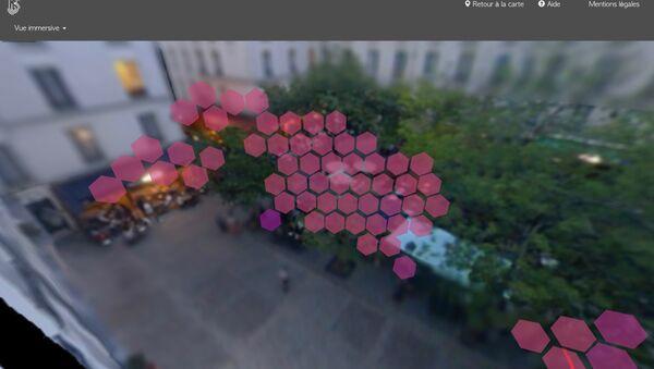 Le bruit à 70dB jusqu'à 02h du matin est un gêne reccurant nocture sur la Place Sainte-Catherine, dans le Marais - Sputnik France