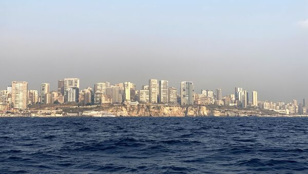 Vue sur Beyrouth depuis la mer - Sputnik France