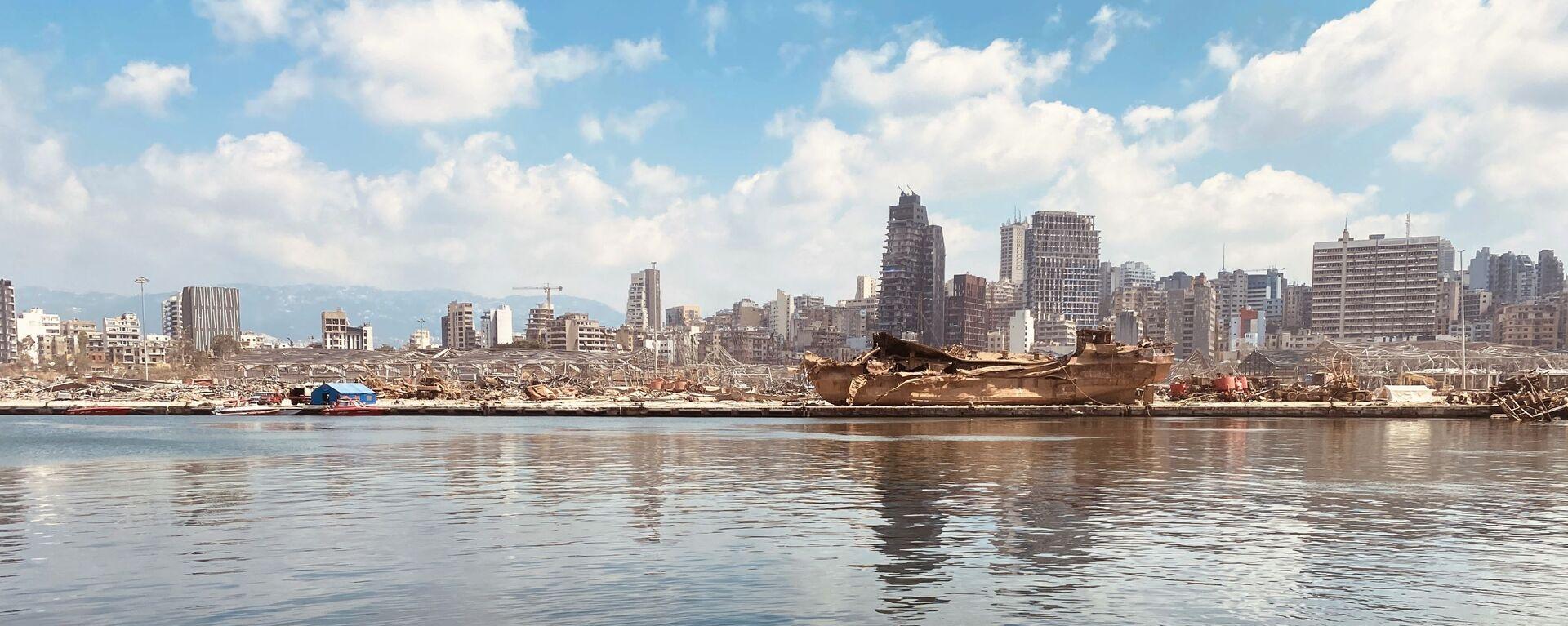Beyrouth après l'explosion - Sputnik France, 1920, 09.07.2021