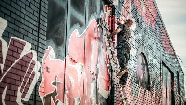 Des graffitis - Sputnik France