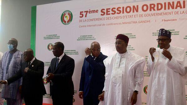 Les chefs d'État de la Cedeao réunis en pour la 57e session ordinaire de la Cedeao - Sputnik France