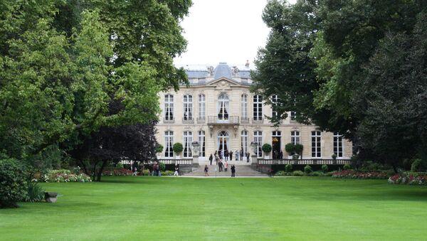Hôtel de Matgnon côté jardin - Sputnik France