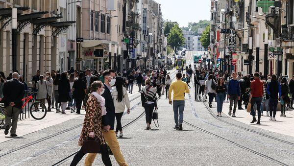 Reims pendant l'épidémie de Covid-19 (archive photo) - Sputnik France