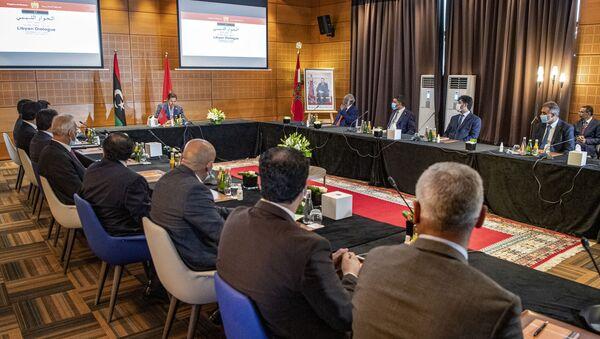 Nasser Bourita, le ministre des Affaires étrangères marocain à Bouznika (Maroc) - Sputnik France