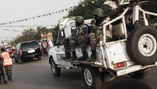 Les forces de la Cedeao en Guinée-Bissau - Sputnik France