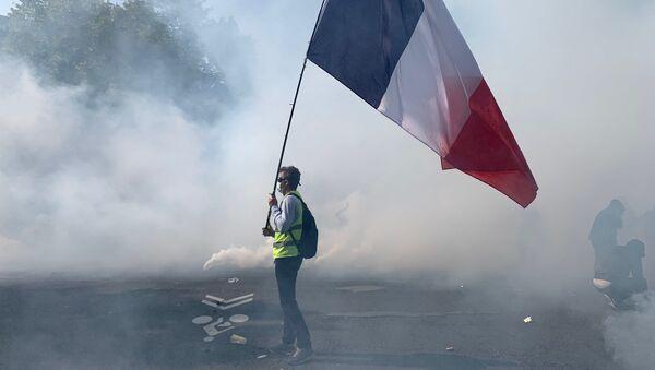 manifestation des Gilets jaunes le 12 septembre à Paris - Sputnik France