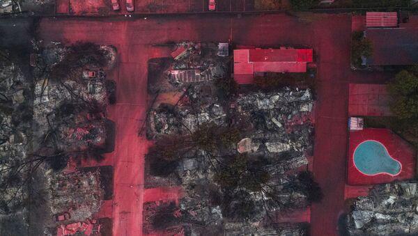 Images apocalyptiques d'une ville d'Oregon anéantie par les incendies   - Sputnik France