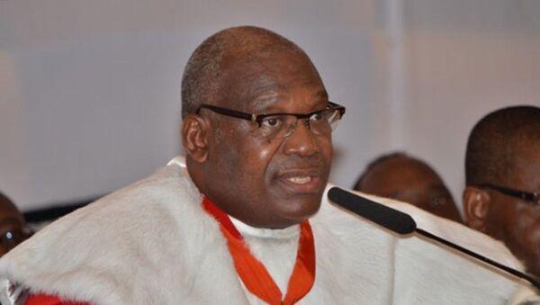 Le président du Conseil constitutionnel ivoirien Koné Mamadou - Sputnik France