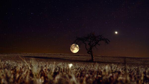Vénus et la Lune - Sputnik France