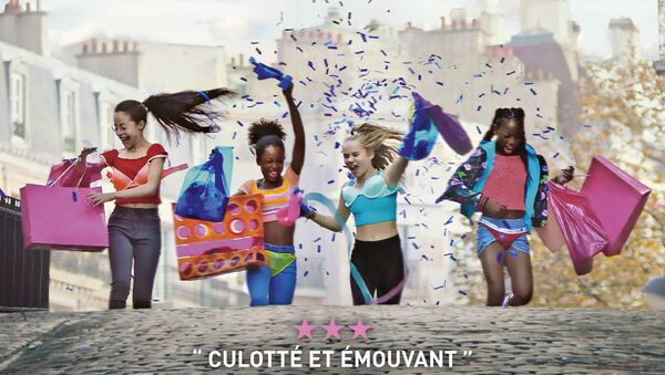 Affiche du film Mignonnes réalisée par Maïmouna Doucouré - Sputnik France