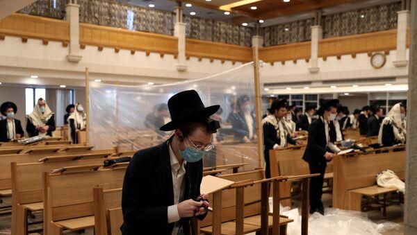 un synagogue de Jerusalem le  18 september 2020 - Sputnik France