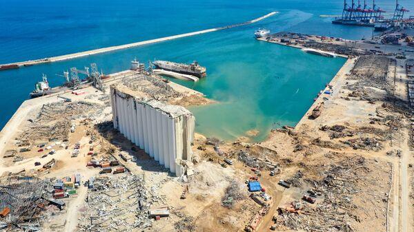 l'explosion dans le port de Beyrouth provoquée par le nitrate d'ammonium  - Sputnik France