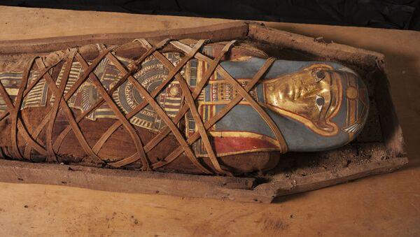 une momie découverte dans l'oasis du Fayoum - Sputnik France