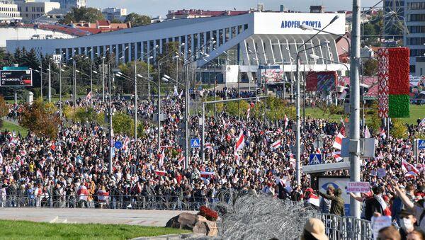 Manifestation à Minsk - Sputnik France