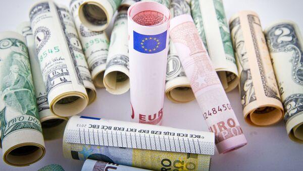 Euros, dollars - Sputnik France