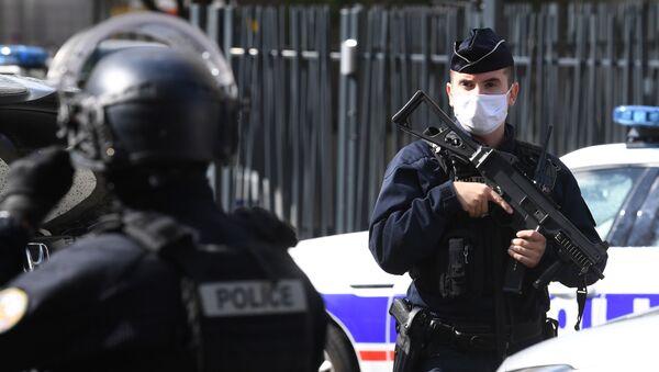 Conséquences de l'attaque à l'arme blanche à Paris ce 25 septembre - Sputnik France