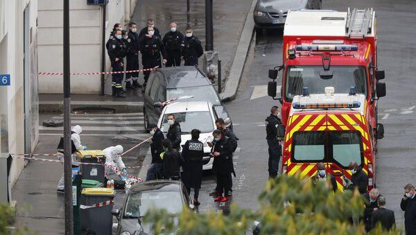 Situation à Paris suite à l'attaque à l'arme blanche survenue le 25 septembre - Sputnik France