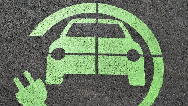 Image d'une voiture électrique - Sputnik France