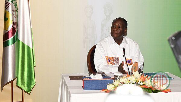 Le Président Ouattara clôture sa visite d'État dans la Marahoué par une conférence de presse (Bouaflé, le 26/09/2020) - Sputnik France