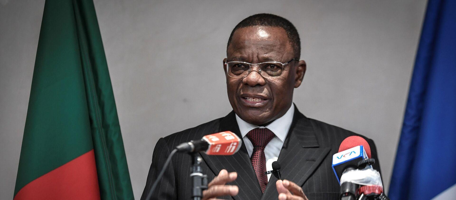 Muarice Kamto, leader du parti d'opposition camerounais Tenaissance pour le Cameroun (MRC) - Sputnik France, 1920, 29.09.2020