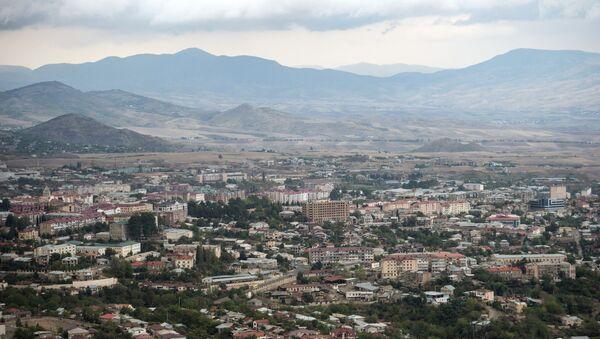 Stepanakert, capitale de la république autoproclamée du Haut-Karabakh - Sputnik France
