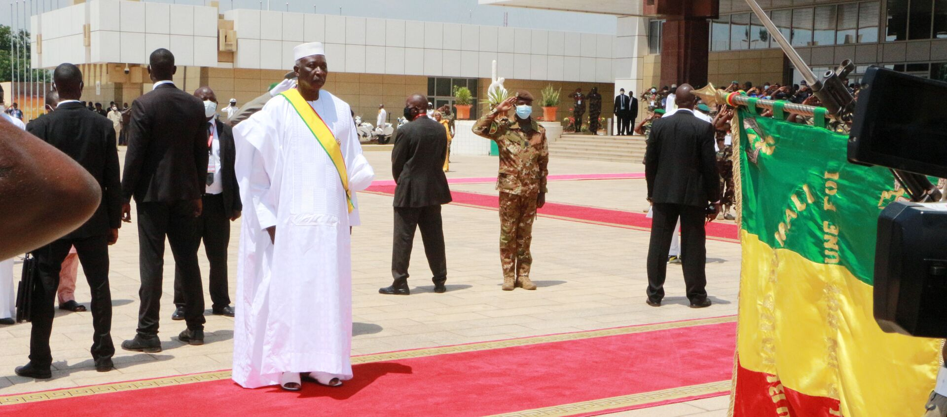 Investiture du Président de la transition, Bah N'Daw, le 25 septembre 2020, à Bamako  - Sputnik France, 1920, 25.05.2021