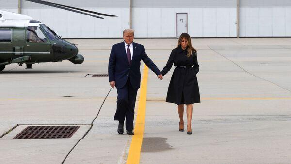 Donald et Melania Trump - Sputnik France