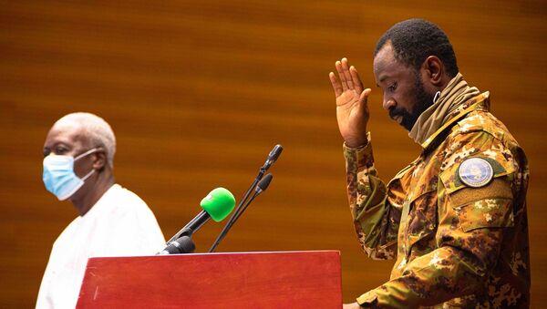 Le vice-Président de la transition du gouvernement malien, Assimi Goïta - Sputnik France