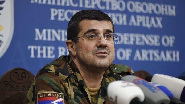 Le dirigeant du Haut-Karabakh Araïk Haroutiounian - Sputnik France