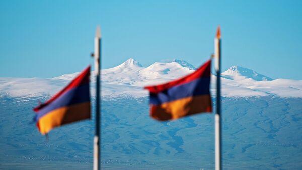 Drapeaux de l'Arménie - Sputnik France