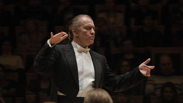 Le chef d'orchestre Valeri Guerguiev - Sputnik France