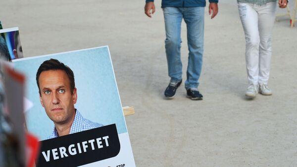 L'affaire Alexeï Navalny - Sputnik France