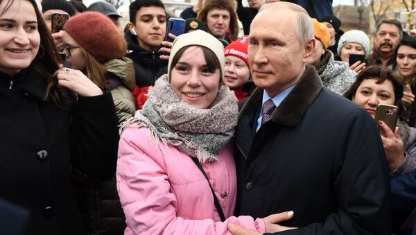 Vladimir Poutine fête son 68e anniversaire!   - Sputnik France