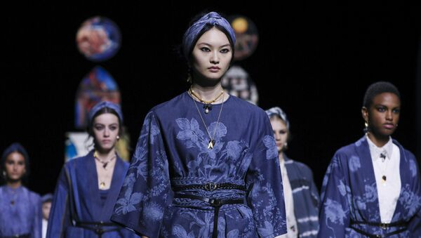 Nouvelle collection Dior pendant Paris Fashion Week - Sputnik France